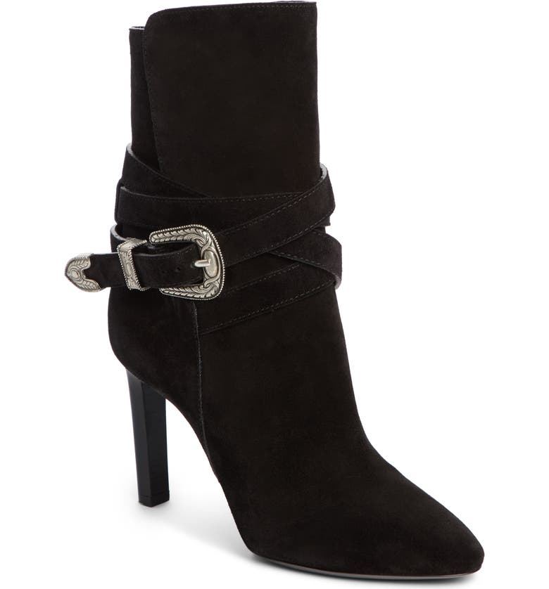 Mica Buckle Bootie by Saint Laurent