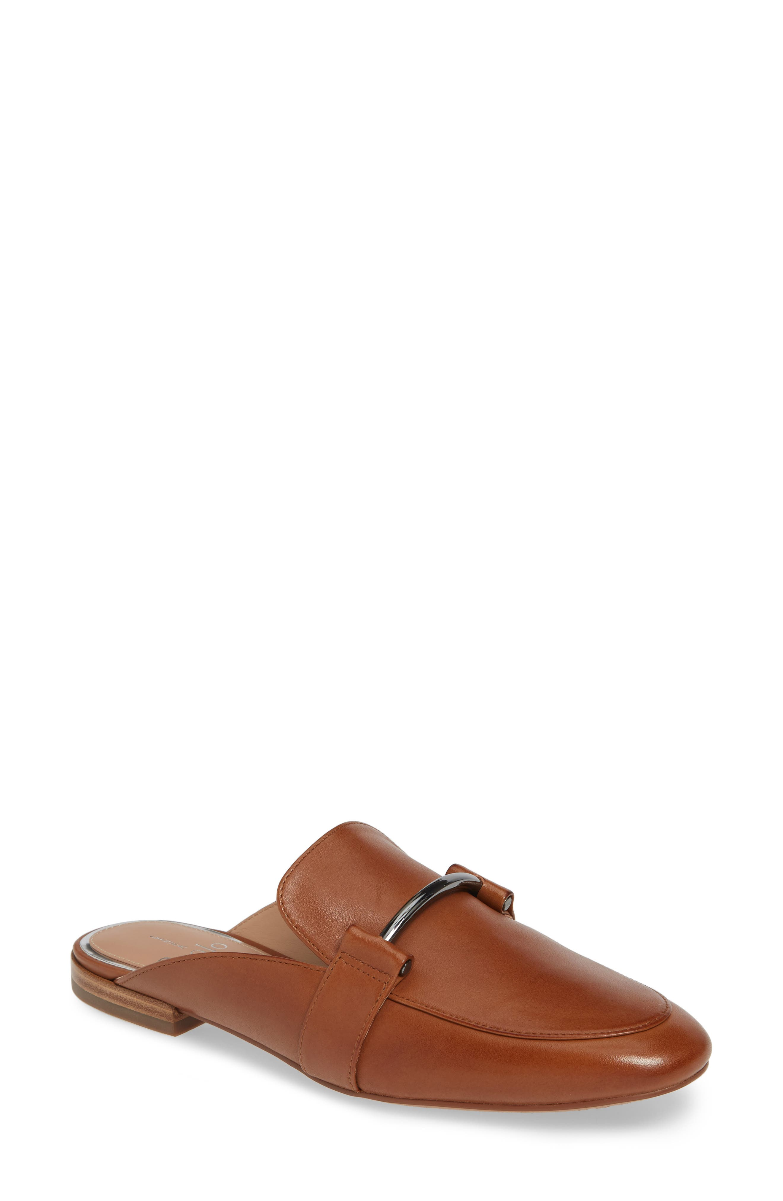 Linea Paolo Annette Loafer Mule, Brown