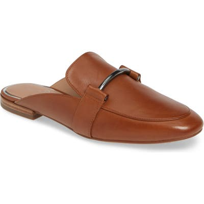 Linea Paolo Annette Loafer Mule- Brown