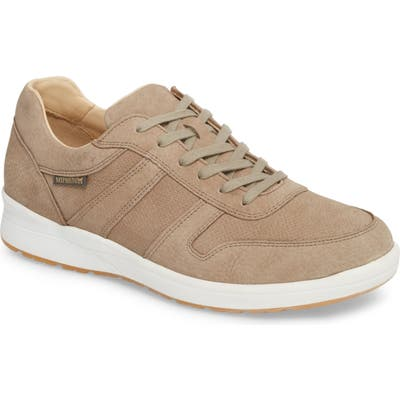 Mephisto Vito Perforated Sneaker, Beige