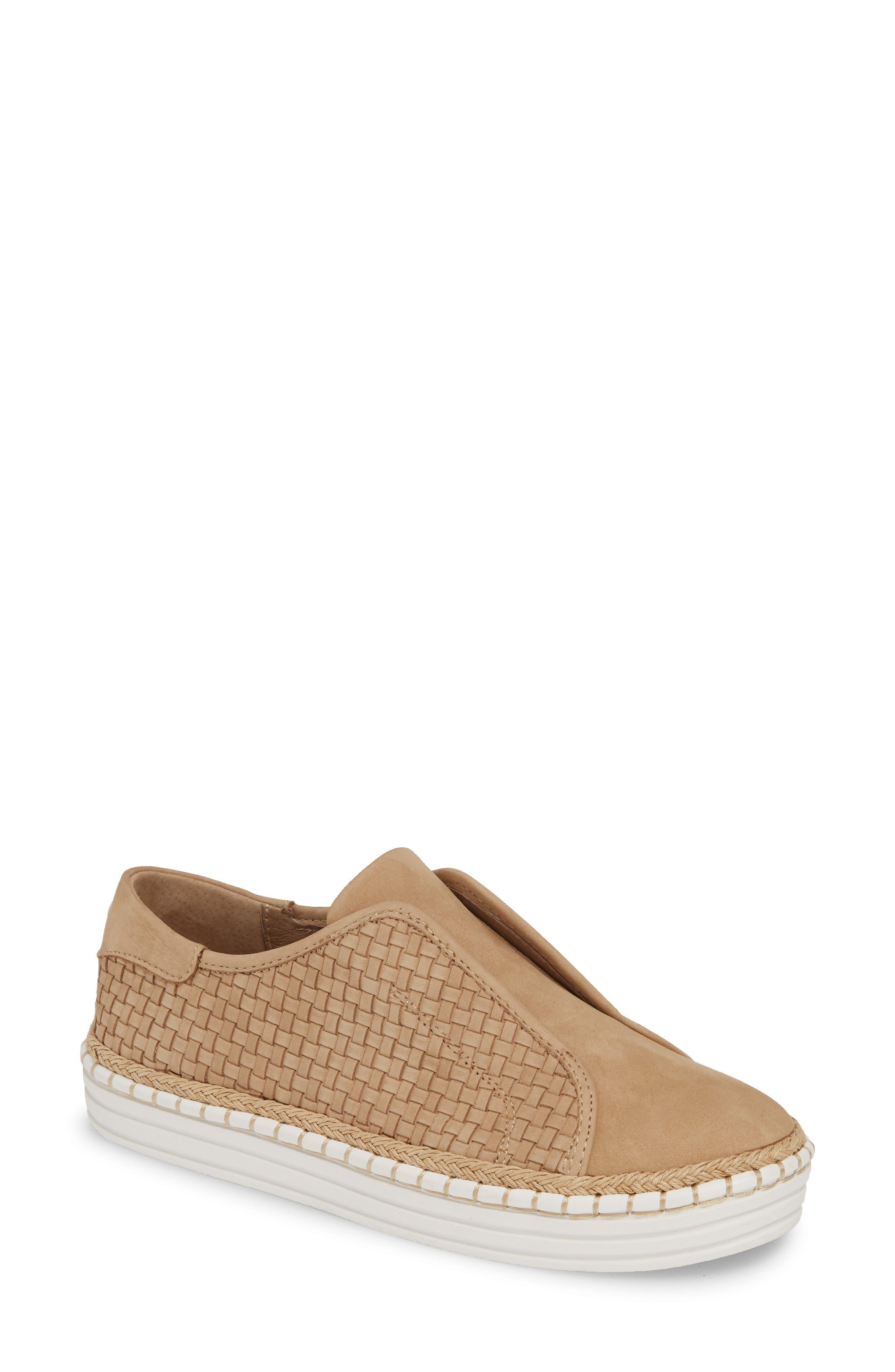 Jslides Kayla Slip-On Sneaker, Brown