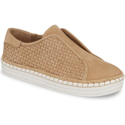 Jslides Kayla Slip-On Sneaker- Brown