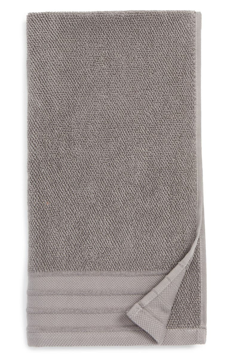 UGG<SUP>®</SUP> Classic Luxe Hand Towel, Main, color, GRANITE