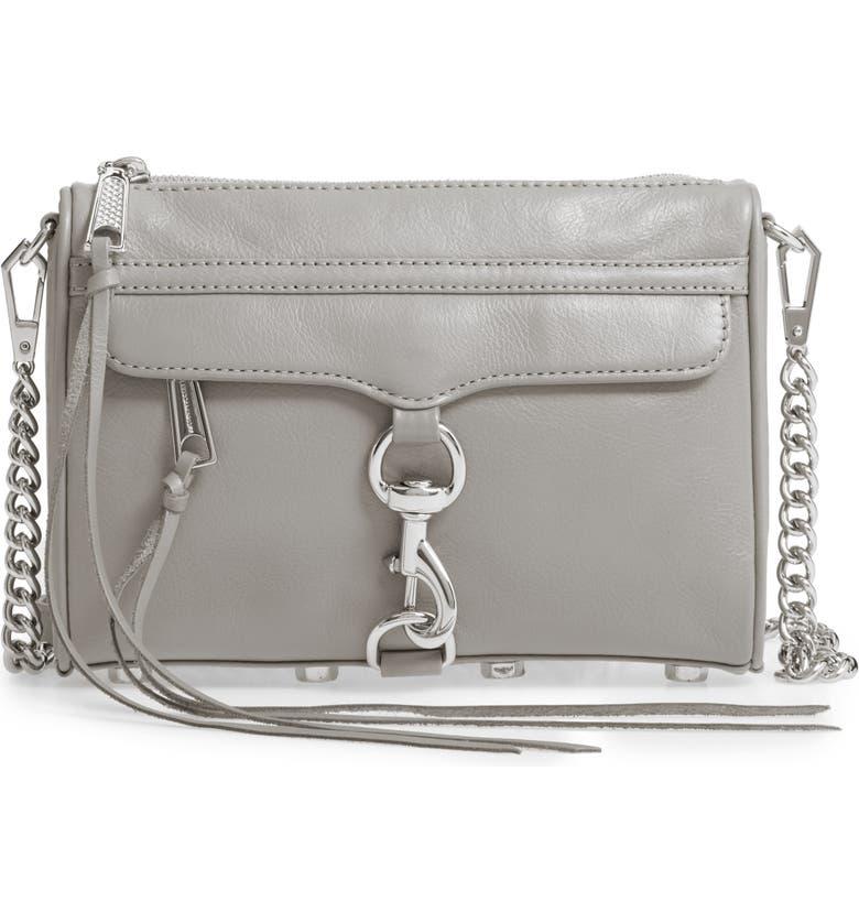 REBECCA MINKOFF Mini MAC Crossbody Bag, Main, color, 020