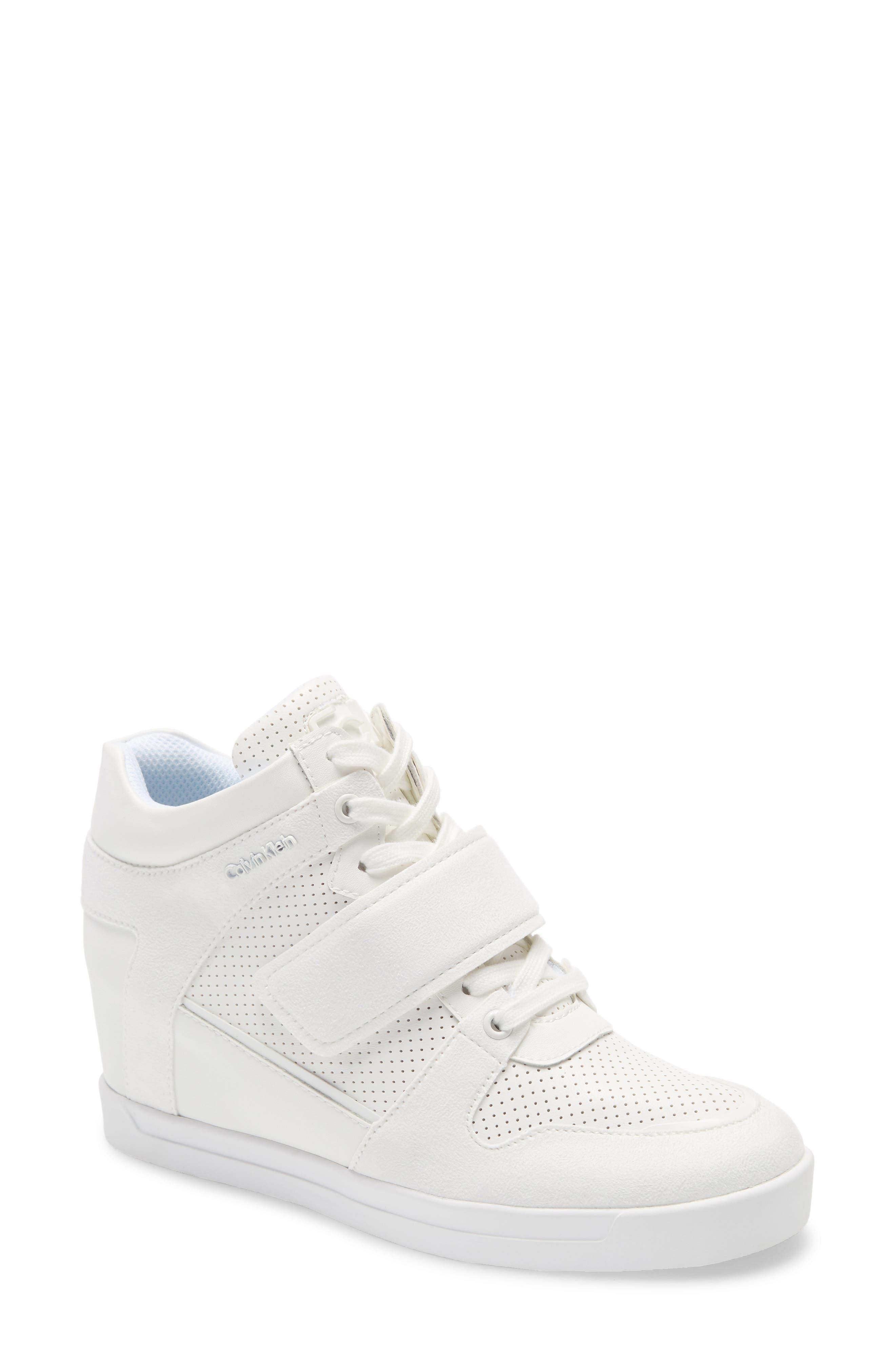 Calvin Klein   Frances Wedge Sneaker