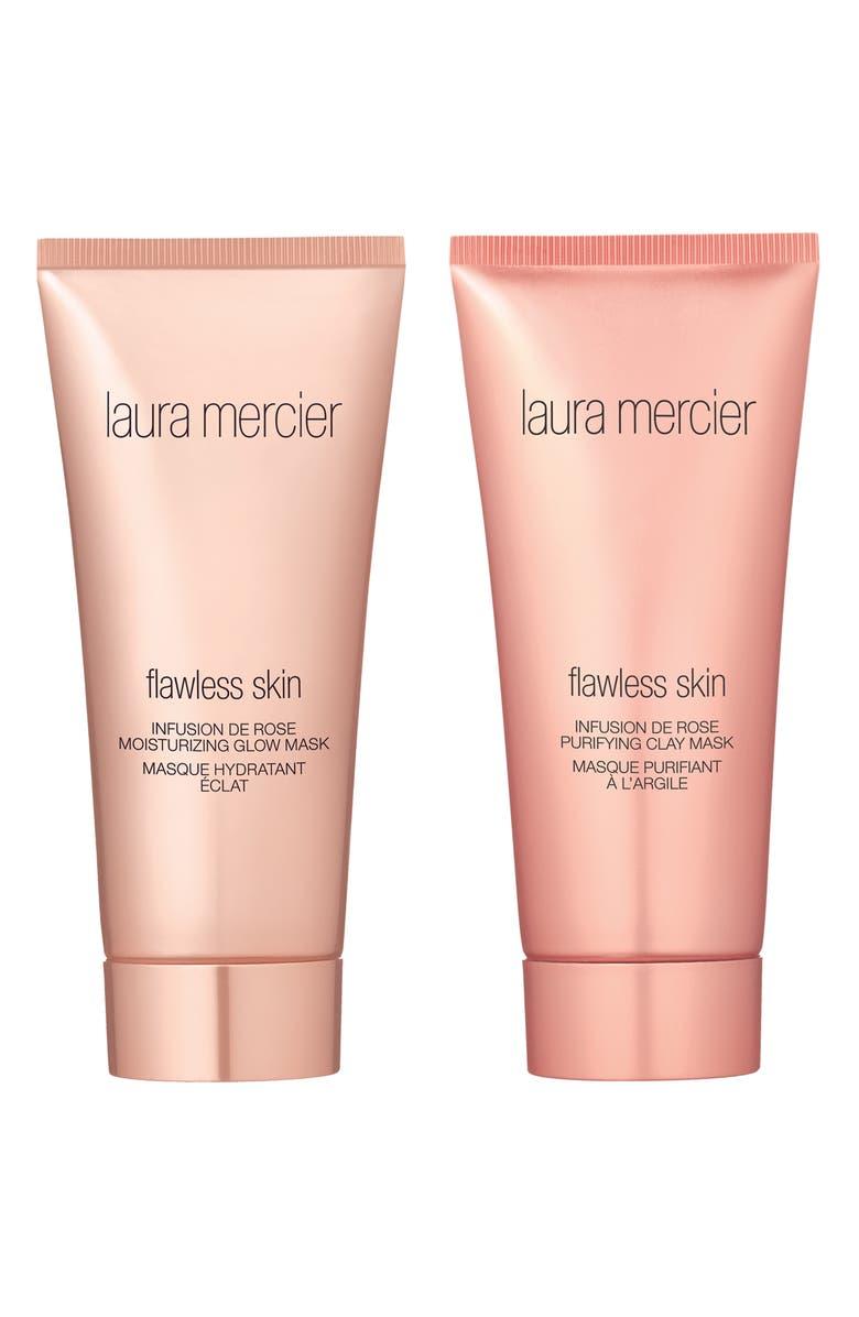 LAURA MERCIER Full Size Infusion de Rose Mask Duo, Main, color, NO COLOR