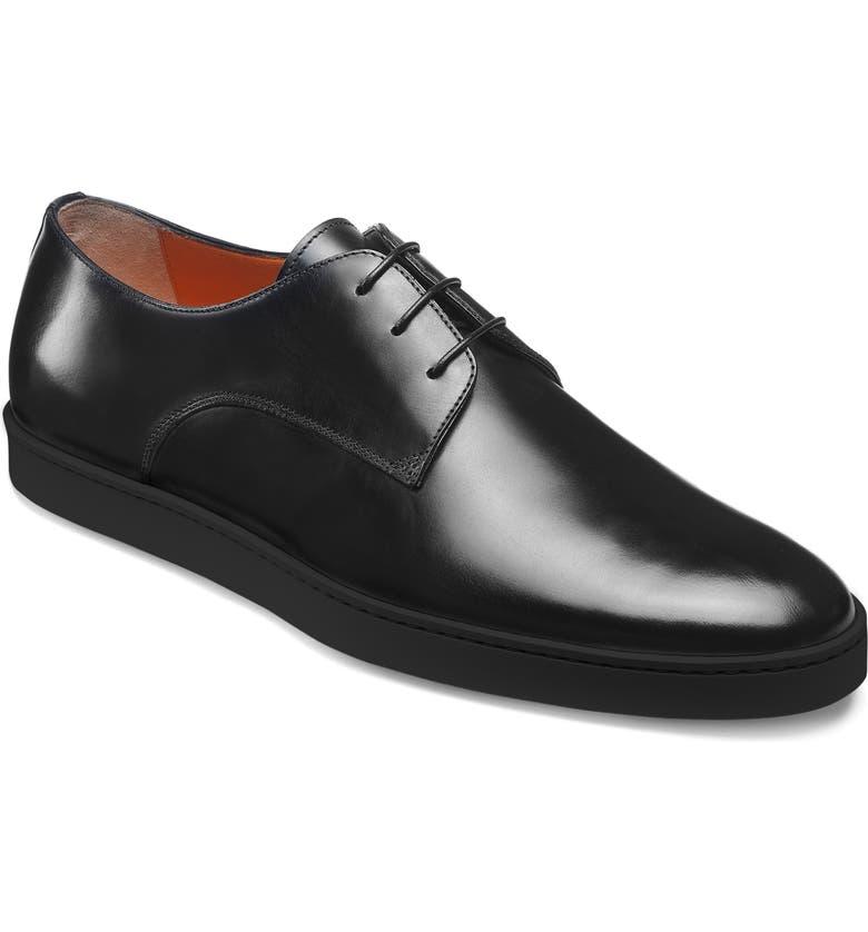 SANTONI Doyle Derby Sneaker, Main, color, 002