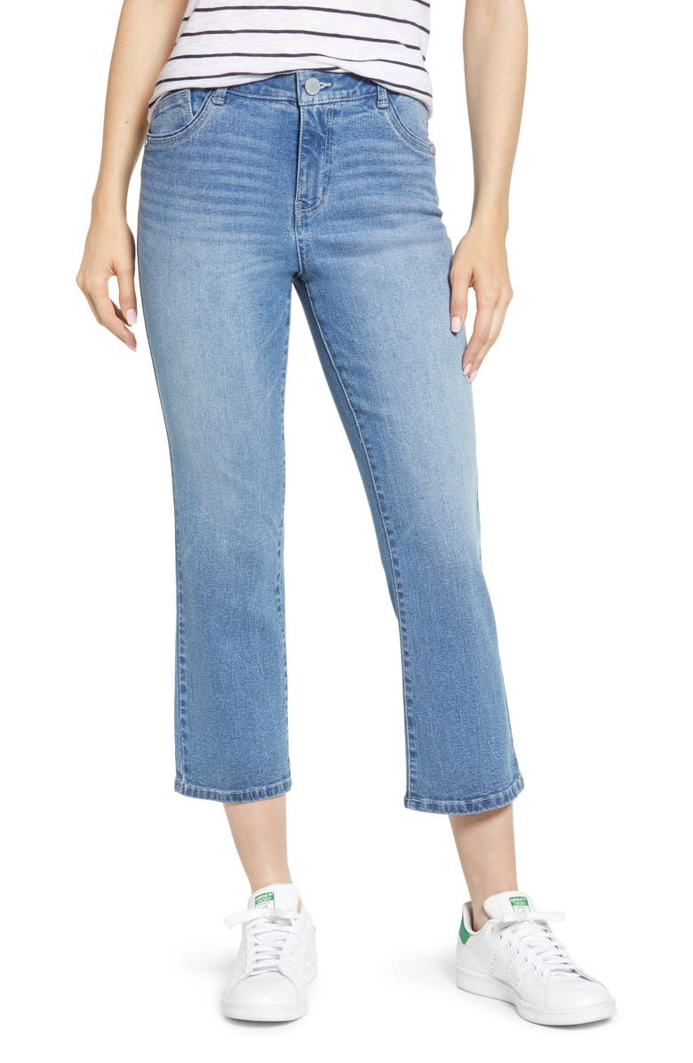 High Waist Kick Flare Jeans by Wit & Wisdom