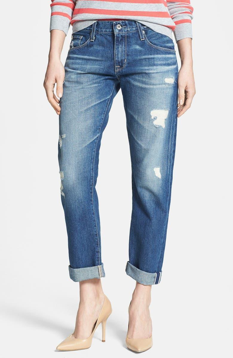 BIG STAR 'Joey' Boyfriend Jeans, Main, color, 406
