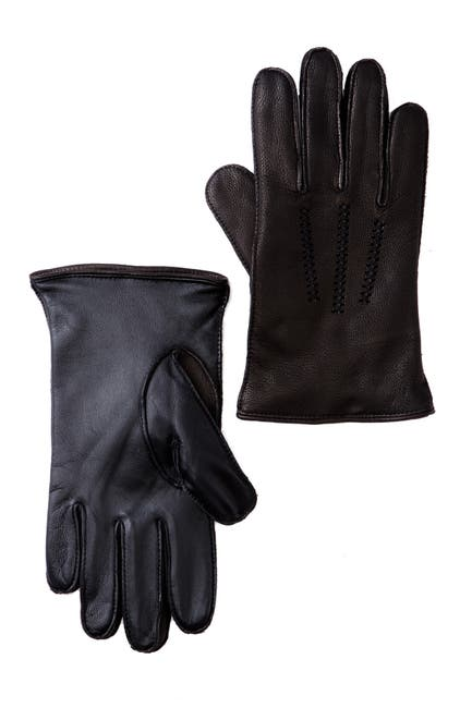 Image of UGG Faux Fur Lined Wrangell Smart Glove