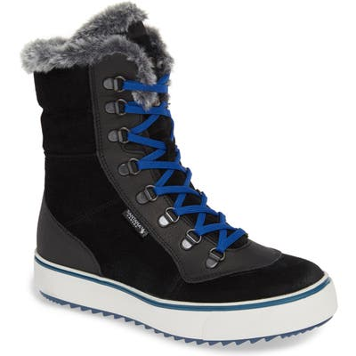 Santana Canada Mid Water Resistant Winter Boot, Black