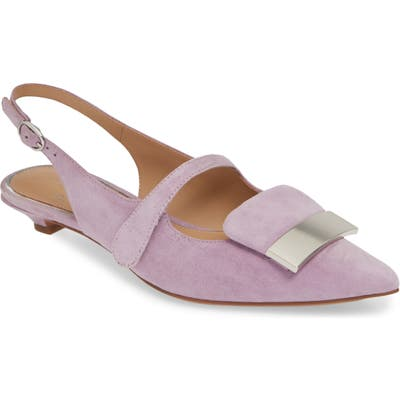 Linea Paolo Capri Low Slingback Pump, Purple