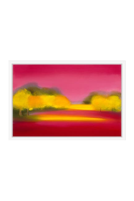 Image of PTM Images Yellow Trees I Gallery Wrapped Giclee Print