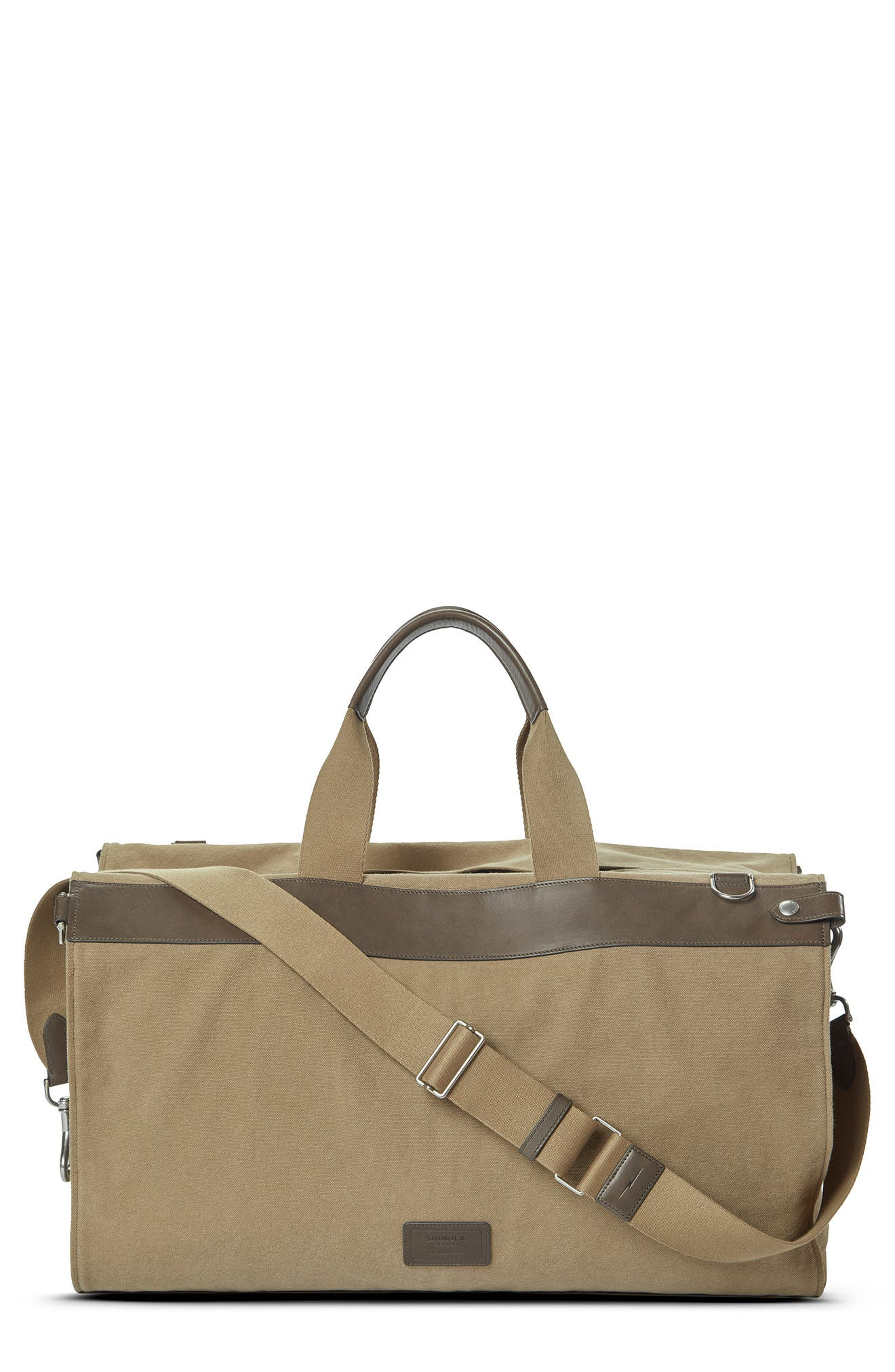 The Convertible Traveler Garment Canvas Bag