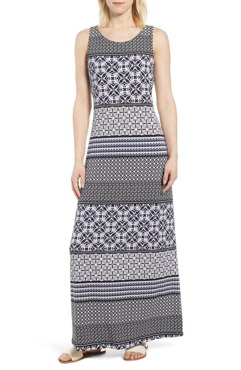 Tropical Terrazza Maxi Dress
