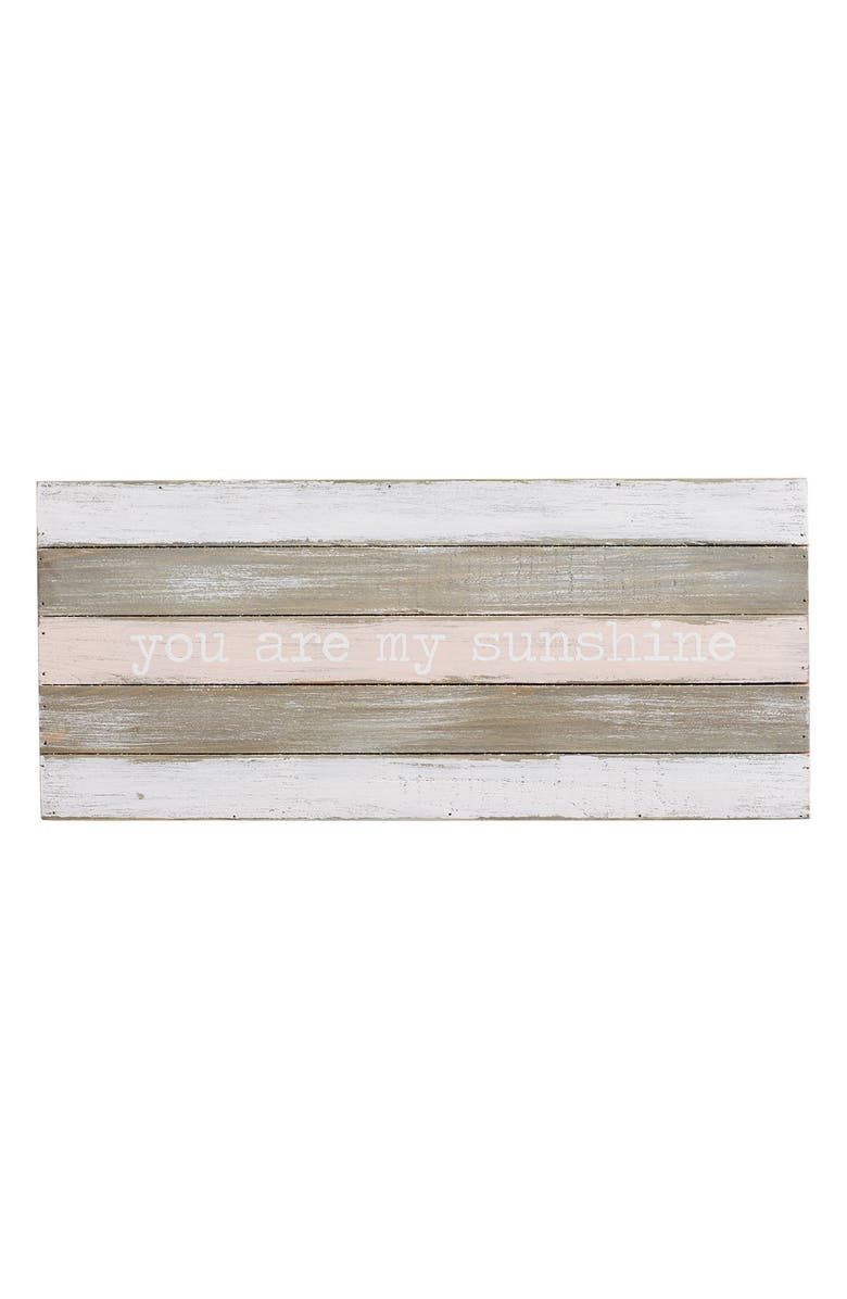 Mud Pie You Are My Sunshine Wood Wall Art Nordstrom