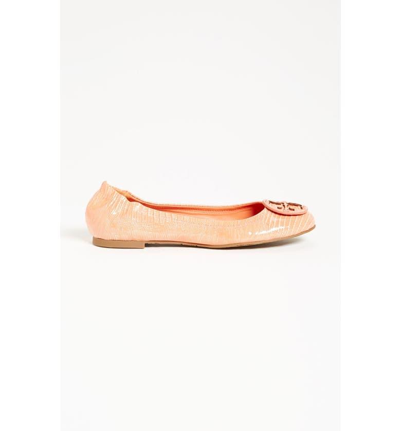 TORY BURCH 'Reva' Ballerina Flat, Main, color, 001