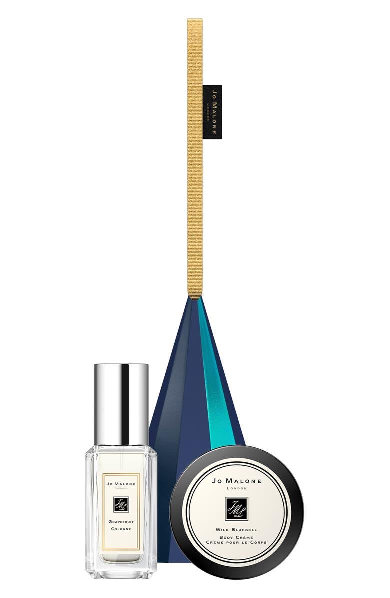 JO MALONE LONDON<SUP>™</SUP> Travel Size Grapefruit Cologne & Wild Bluebell Body Crème Ornament Set, Main, color, NO COLOR