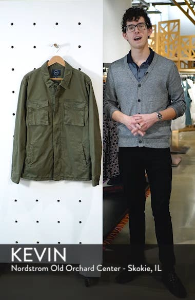 Regular Fit Military Jacket, sales video thumbnail
