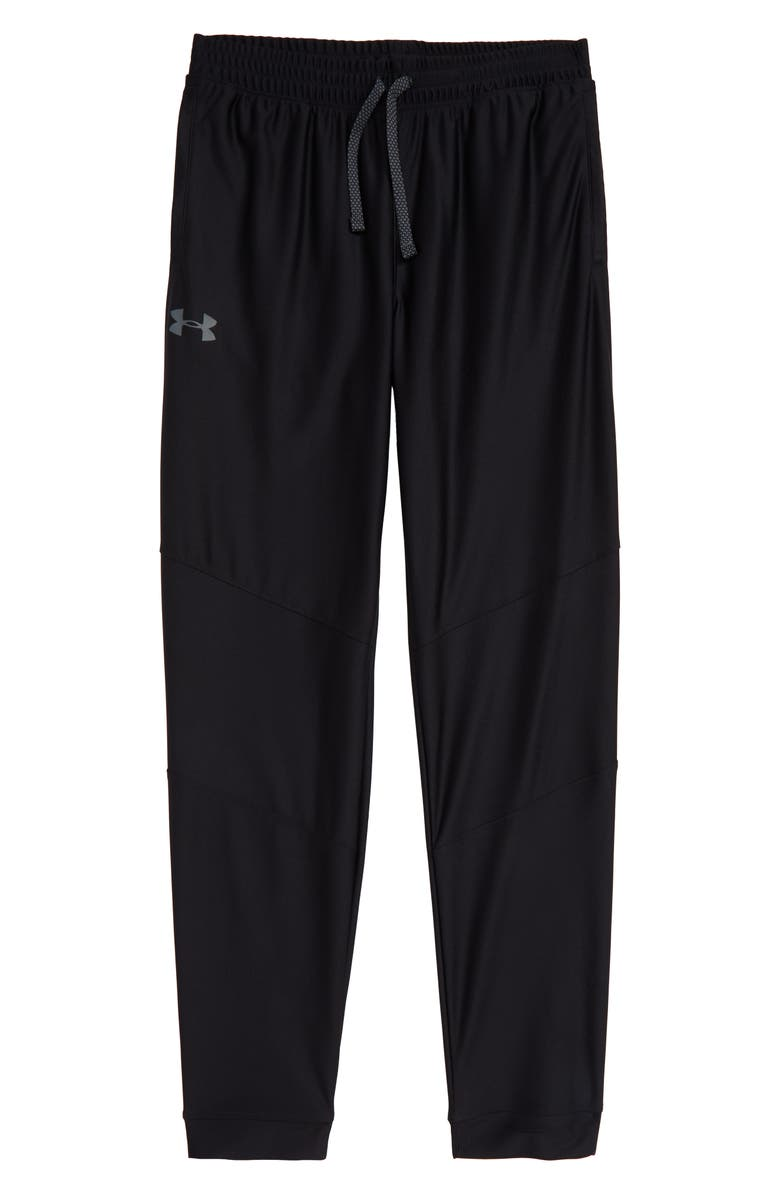 UNDER ARMOUR Prototype HeatGear<sup>®</sup> Pants, Main, color, BLACK/ PITCH GRAY