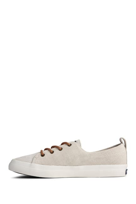 Image of Sperry Crest Vibe Plush/Wave Pin Perforated Sneaker