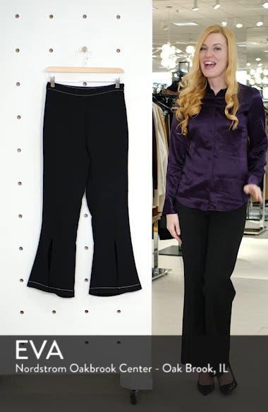 Contrast Stitch Crop Pants, sales video thumbnail