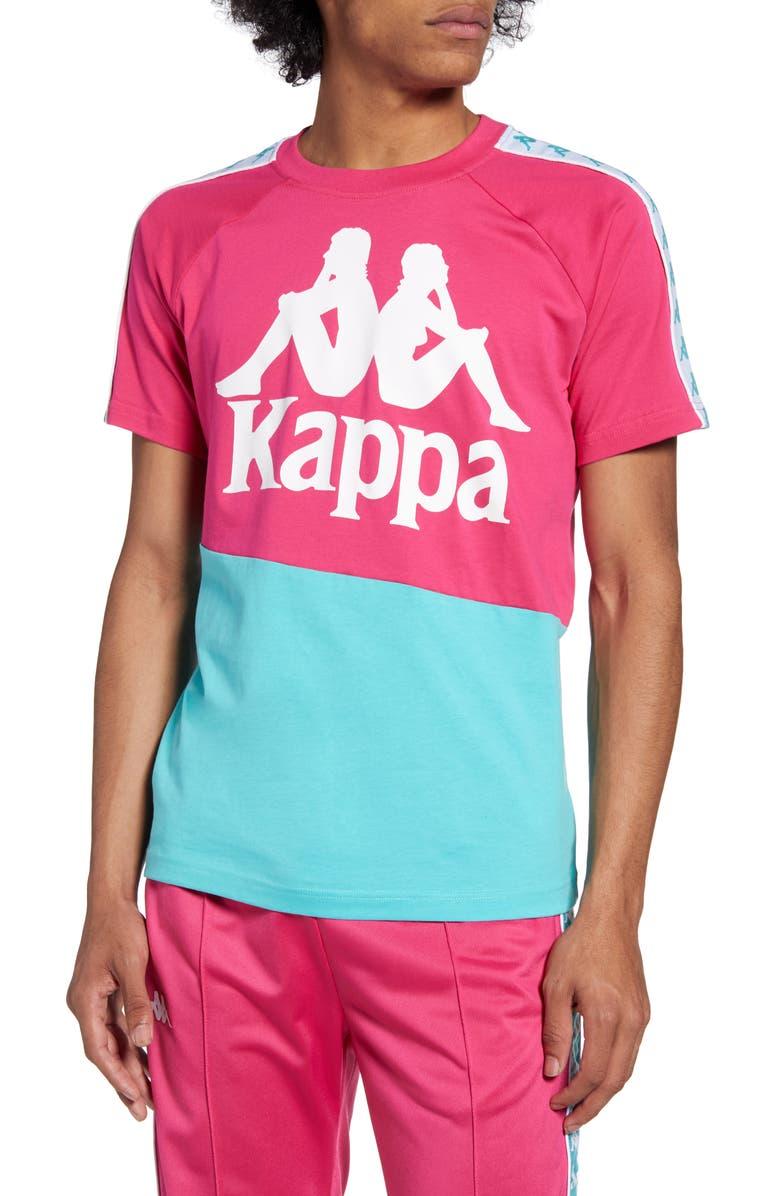 KAPPA 222 Banda Baldwin T-Shirt, Main, color, 650