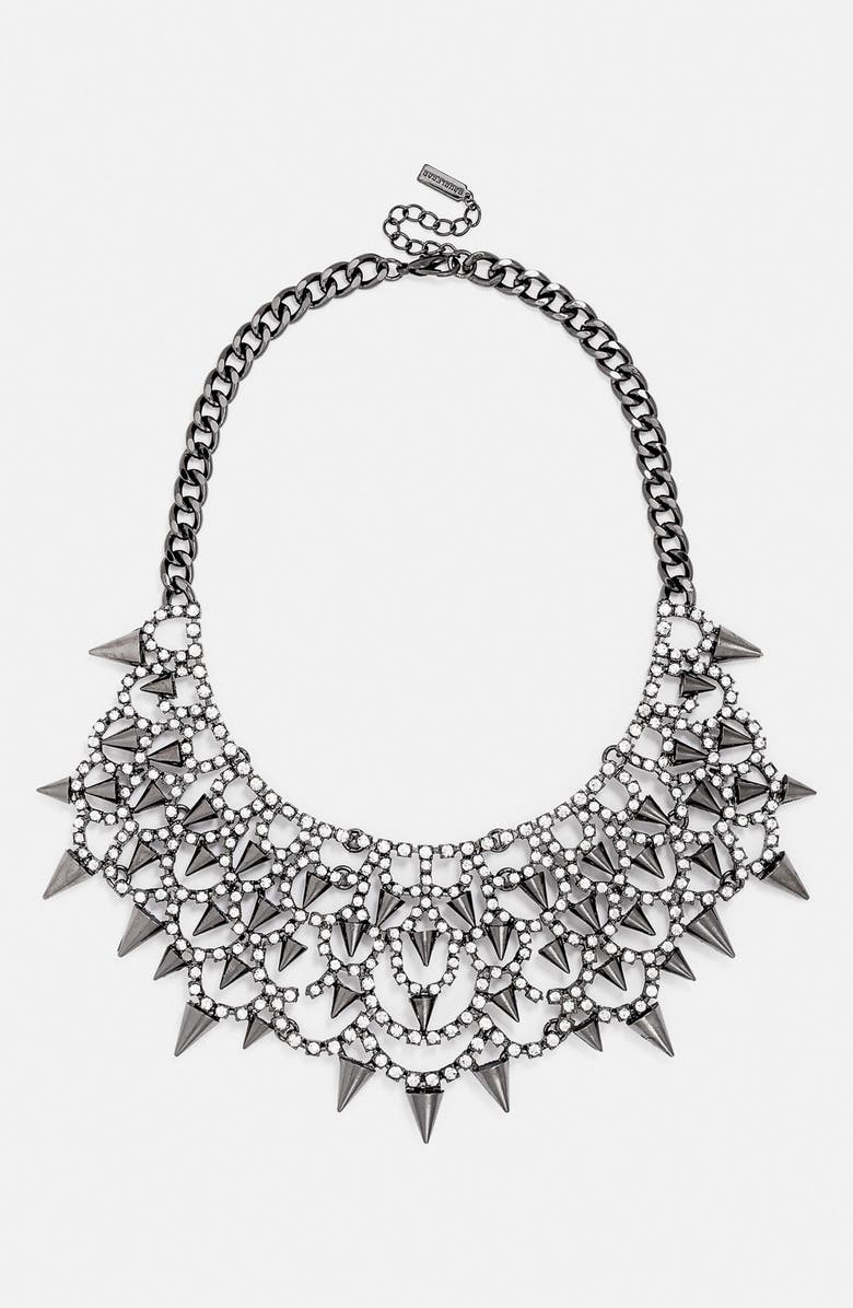 BAUBLEBAR 'Gothic Fang' Bib Necklace, Main, color, 002