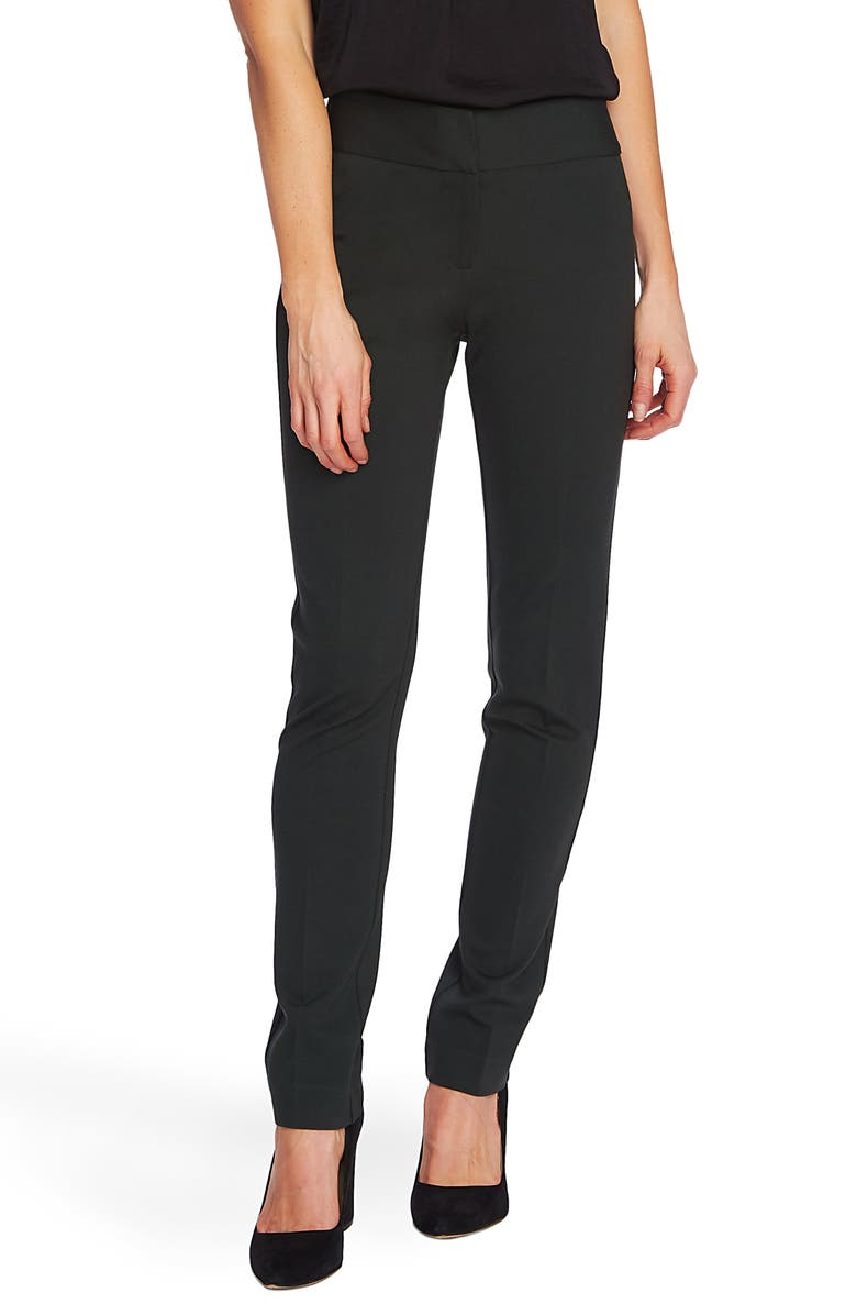 VINCE CAMUTO Ponte Ankle Pants, Main, color, DK WILLOW