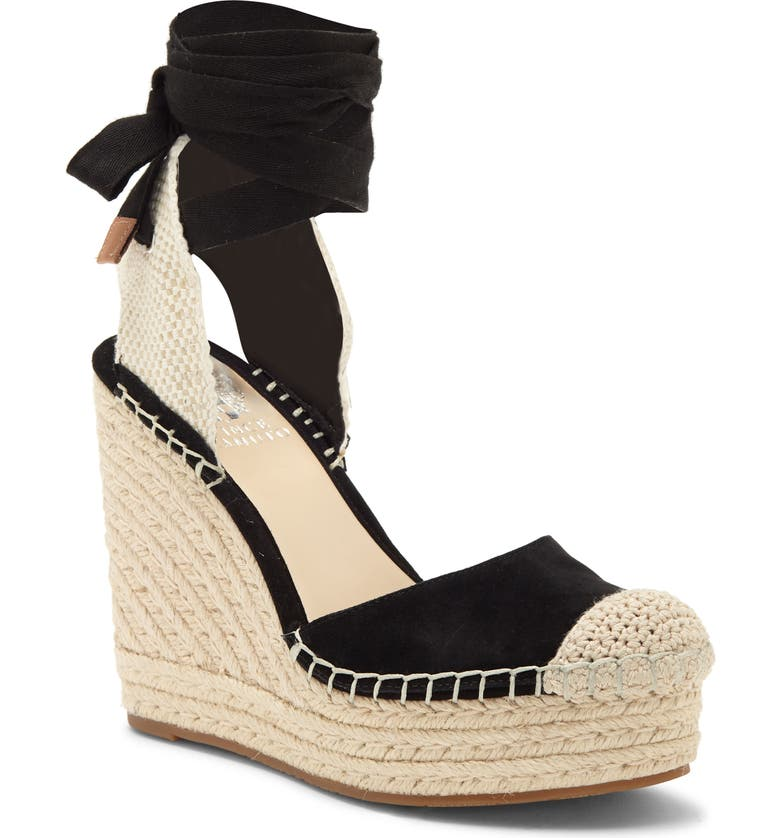 VINCE CAMUTO Alindra Wedge Espadrille Pump, Main, color, 002