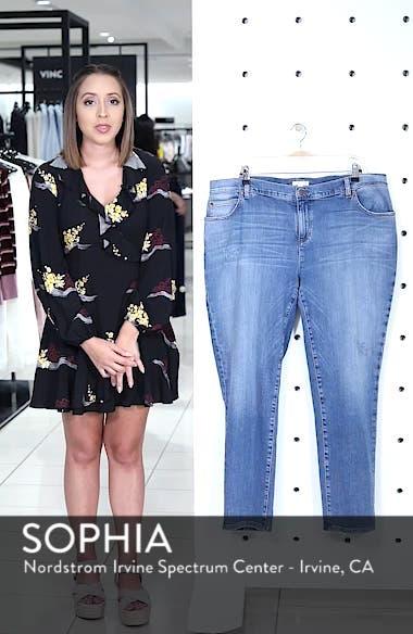 Stretch Organic Cotton Boyfriend Jeans, sales video thumbnail