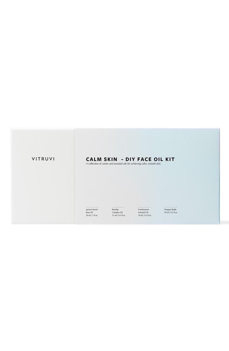 VITRUVI Calm Skin Do-It-Yourself Face Oil Set, Main, color, NO COLOR