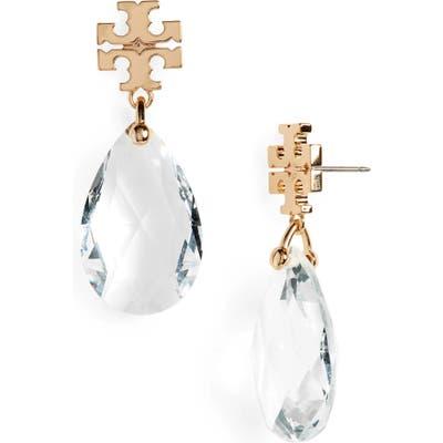 Tory Burch Kira Crystal Drop Earrings