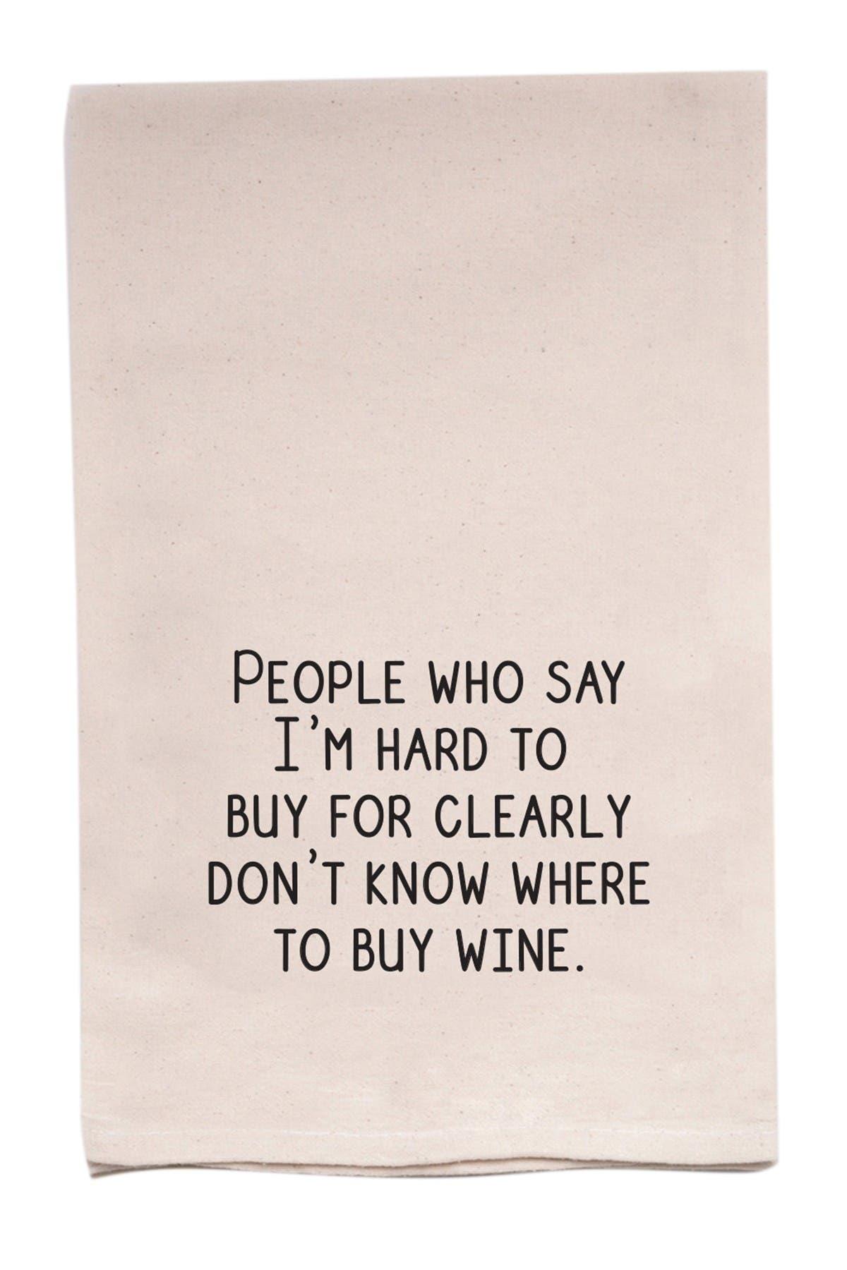 Image of ellembee Home Buy Wine Tea Towel