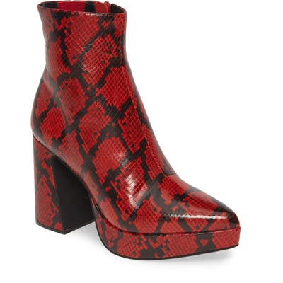 Jeffrey Campbell Dormant Boot, Red