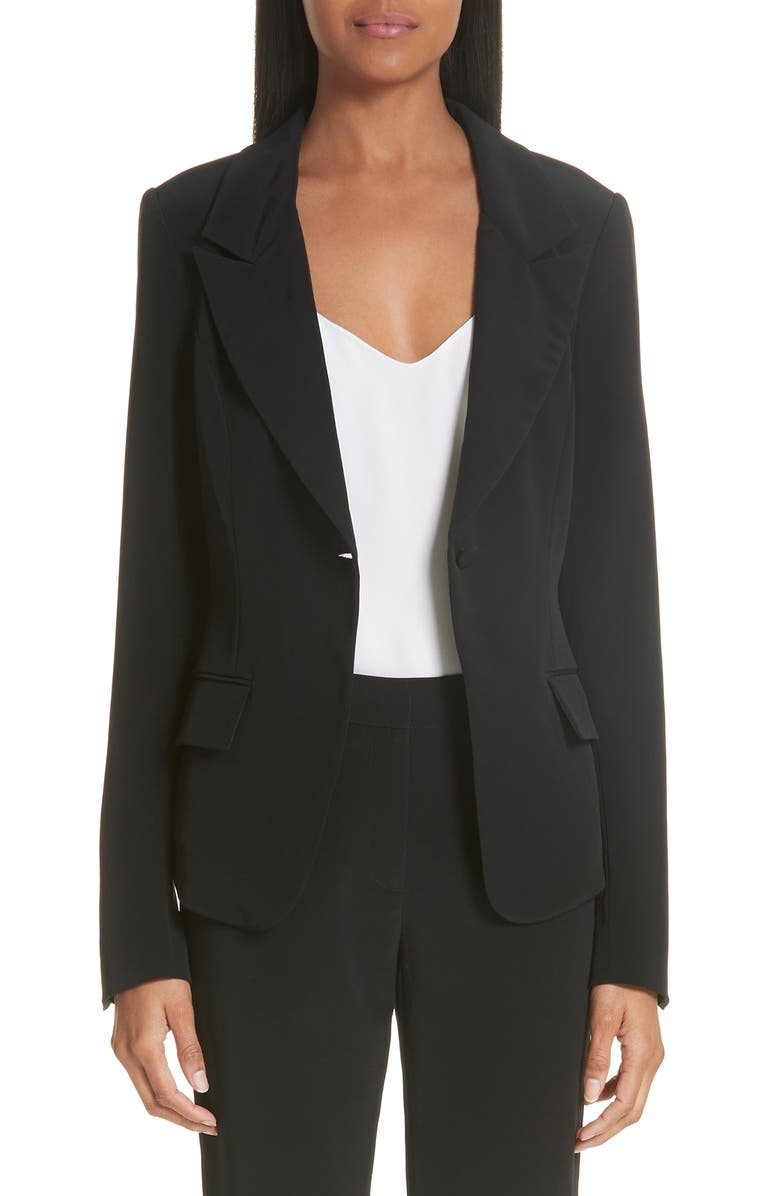 CO Essentials Suiting Jacket, Main, color, BLACK
