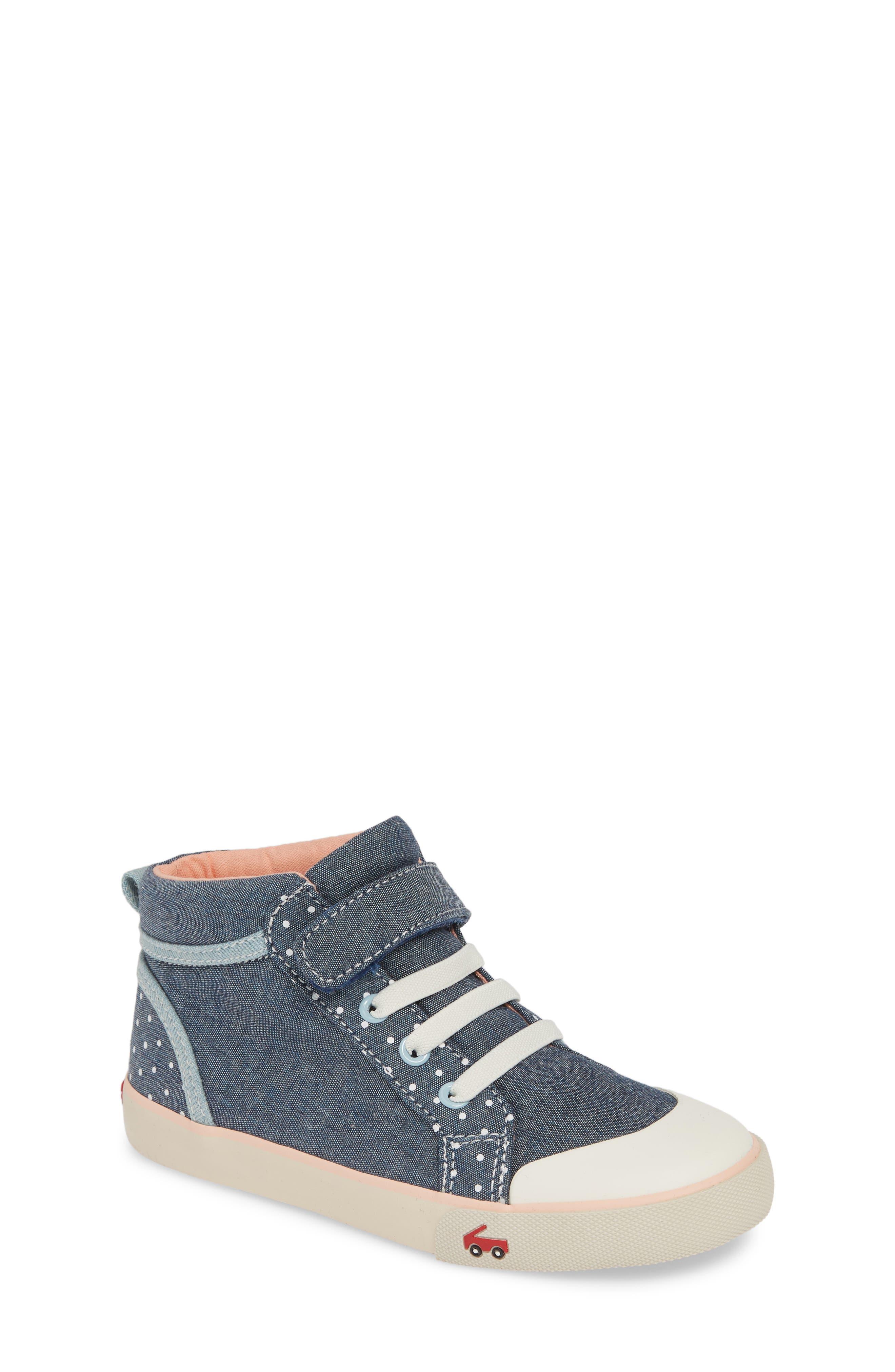 Image of See Kai Run Peyton High Top Sneaker