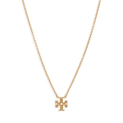 Tory Burch Logo Charm Necklace