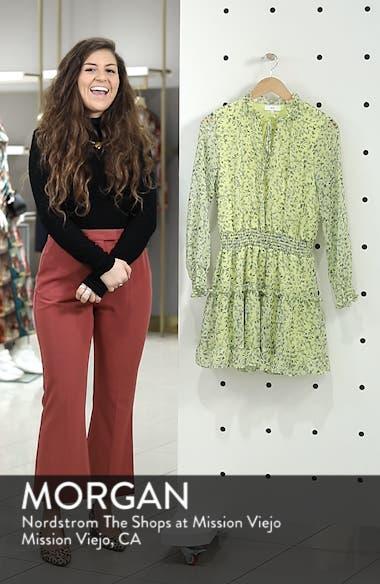 Emma Floral Print Ruffle Dress, sales video thumbnail