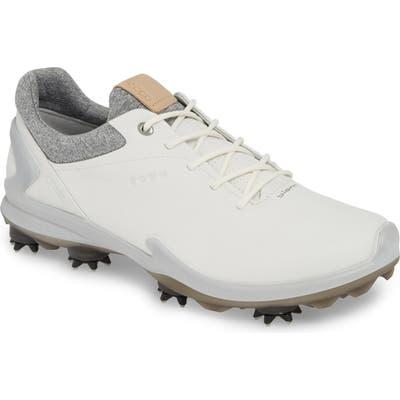 Ecco Biom G 3 Gore-Tex Golf Shoe, White