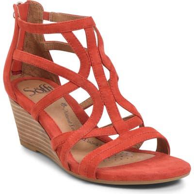 Sofft Malindi Sandal- Red
