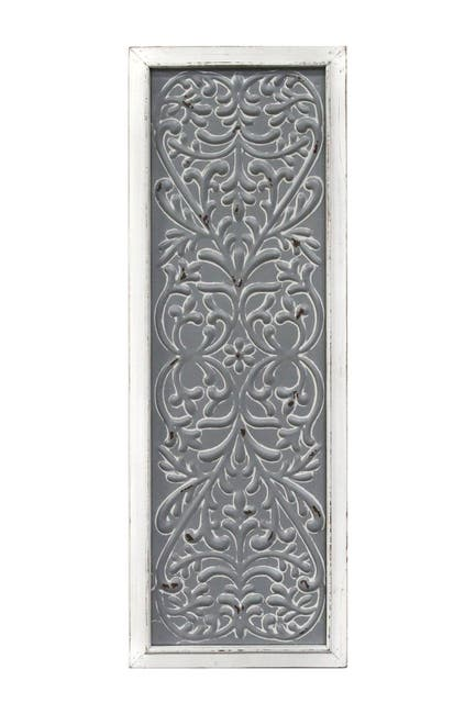 Image of Stratton Home Metal Embossed Panel Wall Decor