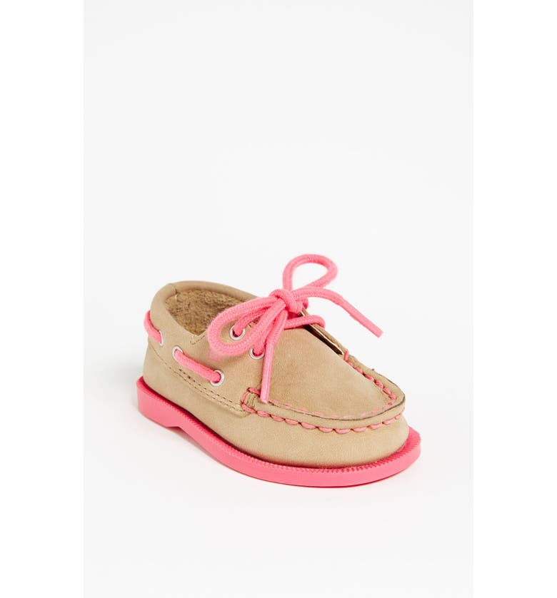 SPERRY KIDS Sperry Top-Sider<sup>®</sup> Kids 'Authentic Original' Crib Shoe, Main, color, 250