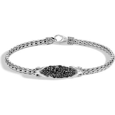 John Hardy Chain Classic Asli Black Sapphire Bracelet