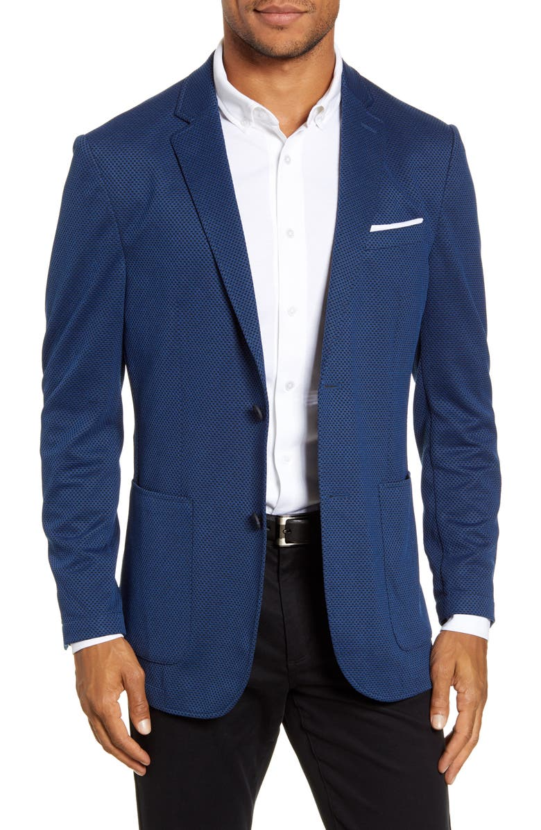 VINCE CAMUTO Regular Fit Sport Coat, Main, color, INDIGO HEATHER