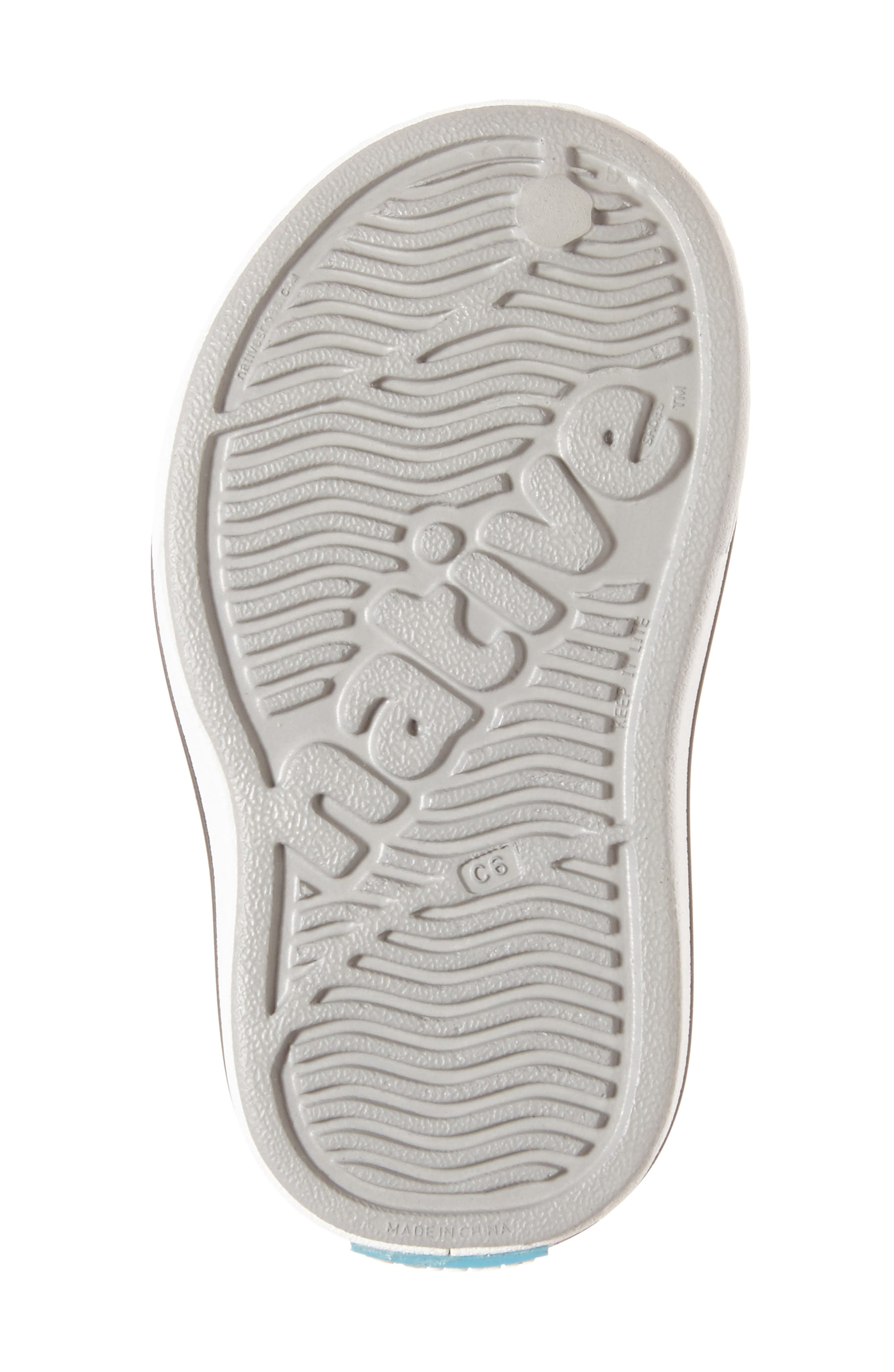 ,                             Miles Water Friendly Slip-On Vegan Sneaker,                             Alternate thumbnail 6, color,                             PIGEON GREY/ SHELL WHITE