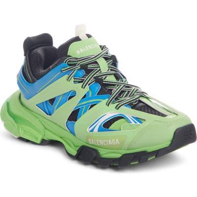 Balenciaga Track Low Top Sneaker, Green