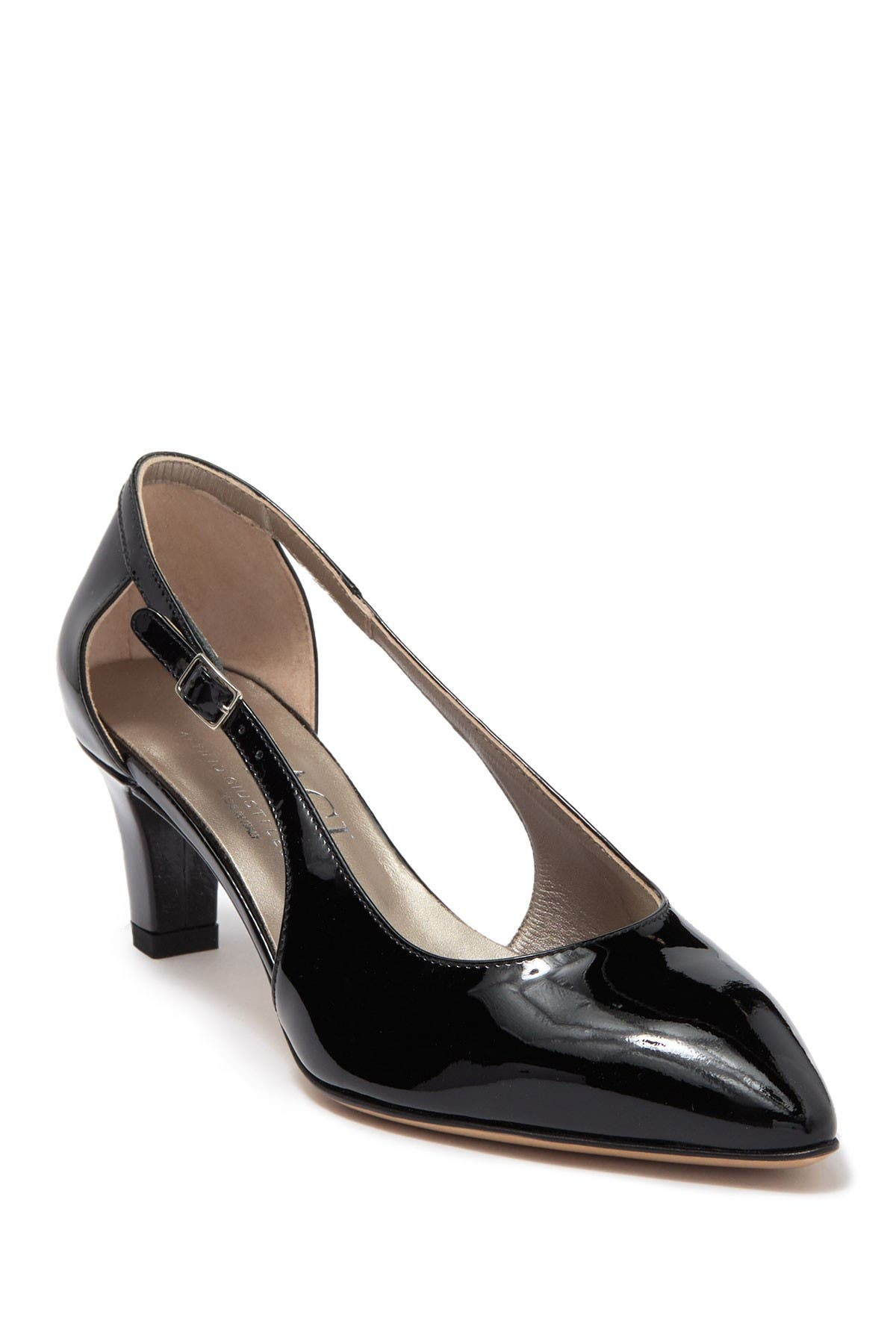 Image of AGL d'Orsay Black Patent Pump