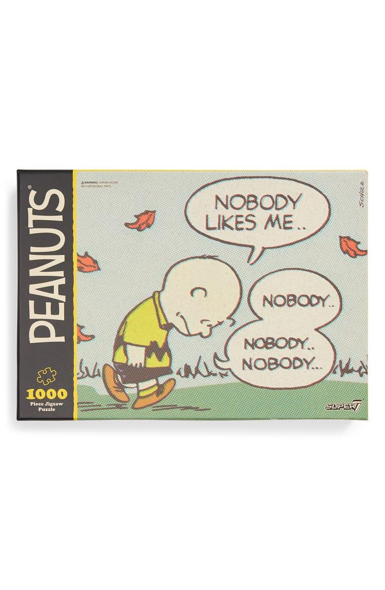 PEANUTS Super7 x Peanuts<sup>®</sup> Sad Charlie Brown Puzzle, Main, color, 700