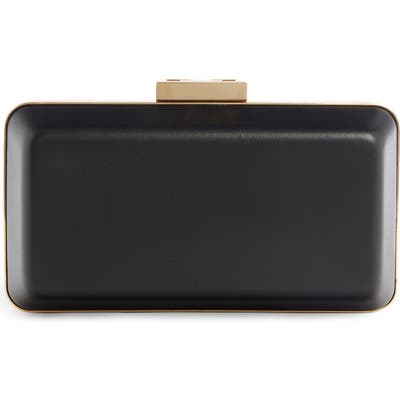 Givenchy 2G Leather Minaudiere - Black